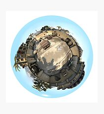 CSGO Dust2 Mini World Photographic Print