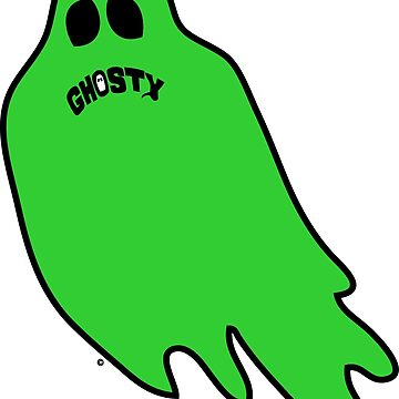 Green Ghosty by GhostyBrand
