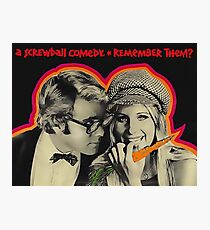 What's Up, Doc? (1972) #PeterBogdanovich #Screwball #Comedy #AFI Photographic Print