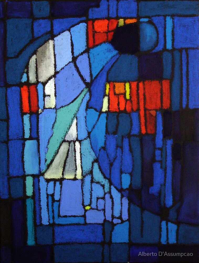 Stained-Glass Window by Alberto D'Assumpcao