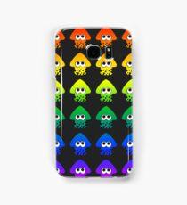 Rainbow Splatoon Squids Samsung Galaxy Case/Skin