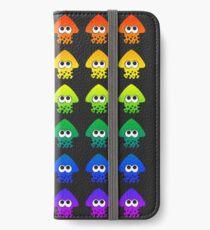 Rainbow Splatoon Squids iPhone Wallet/Case/Skin