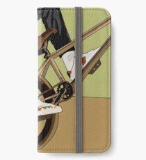 Biking iPhone Wallet/Case/Skin