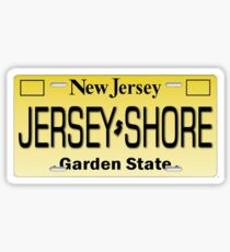 J shore License plate Sticker