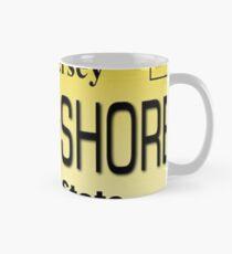 J shore License plate Mug