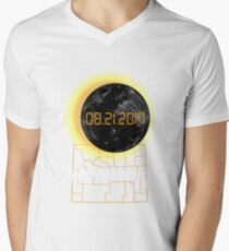 Total Solar Eclipse Wyoming WY Tshirt 21 August 2017 T-Shirt