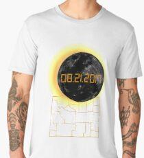 Total Solar Eclipse Wyoming WY Tshirt 21 August 2017 Men's Premium T-Shirt
