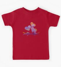 Water colour shubunkin love Kids Clothes