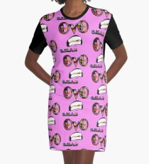Dragon Ball Z Graphic T-Shirt Dress