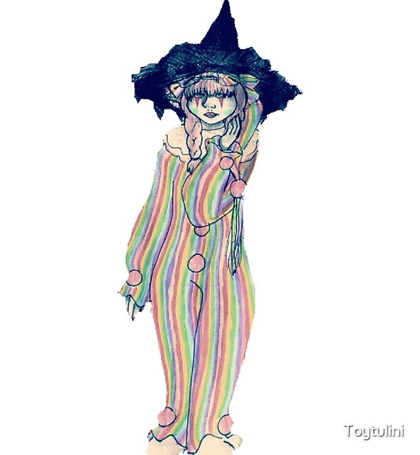 Clown Witch by Toytulini