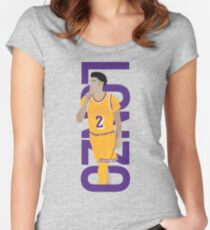 LONZO MANIA GOLD RUSH Women's Fitted Scoop T-Shirt
