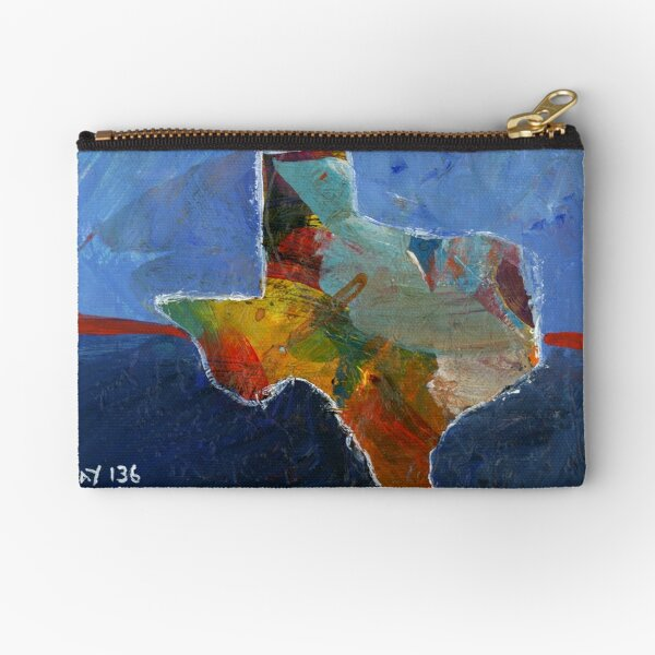 Project 321 - Texas Zipper Pouch