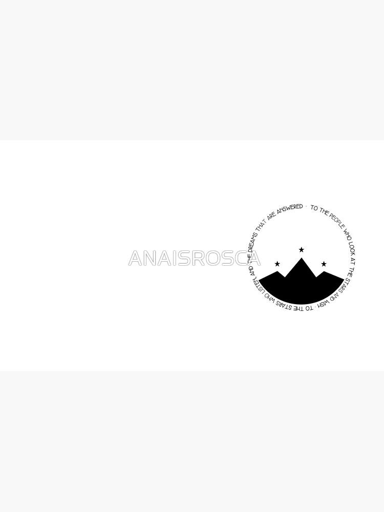 Den Menschen, die in die Sterne schauen und WISH von ANAISROSCA