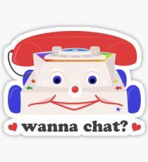 Wanna Chat? Sticker