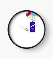 Time floats away Clock