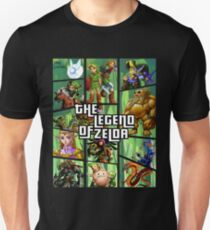 The Legend of Zelda GTA Mashup T-Shirt