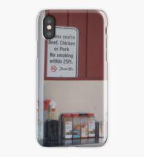 No Smoking Sign iPhone Case/Skin