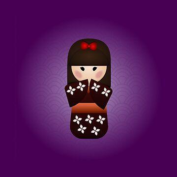 Kokeshi Doll by 3nvy
