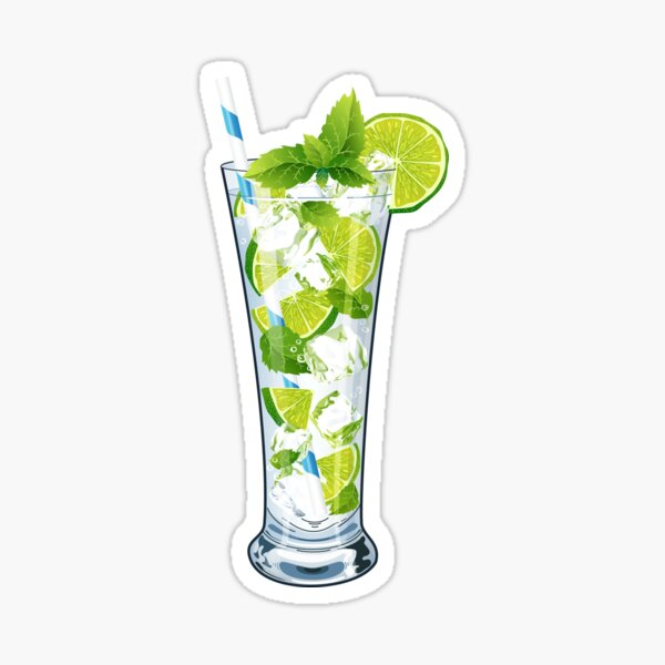 Juicy Mojito Sticker
