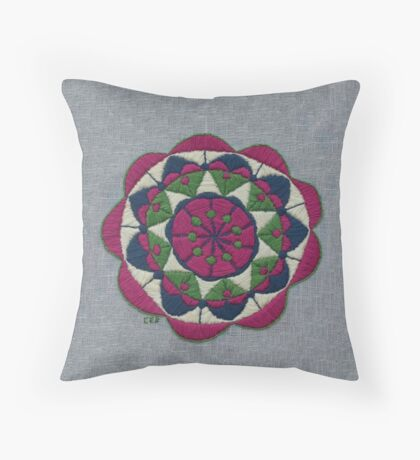 Spring Dew Throw Pillow