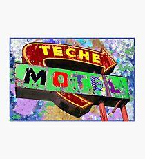 Teche Motel Photographic Print