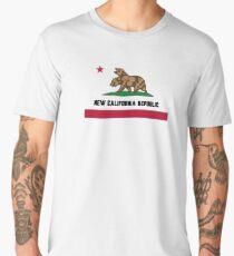 New California Republic Flag Men's Premium T-Shirt
