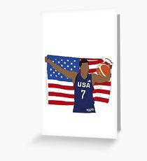 Kyle Lowry Team USA Greeting Card