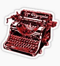 Vintage Typewriter  Sticker