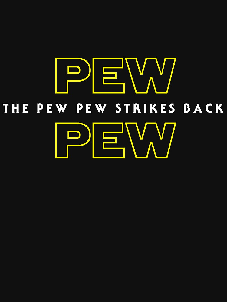 The Pew Pew Strikes Back by superkickparty