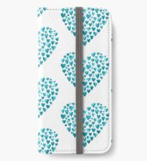 hearts in the shape of a large heart iPhone Wallet/Case/Skin