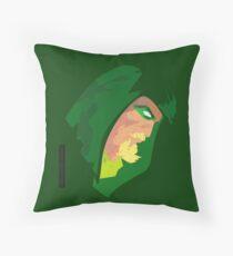 Longbow Hunter Throw Pillow
