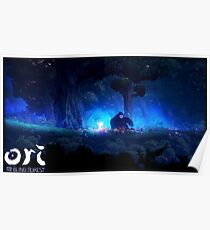 Ori and The Blind Forest (Tribute Poster) Poster