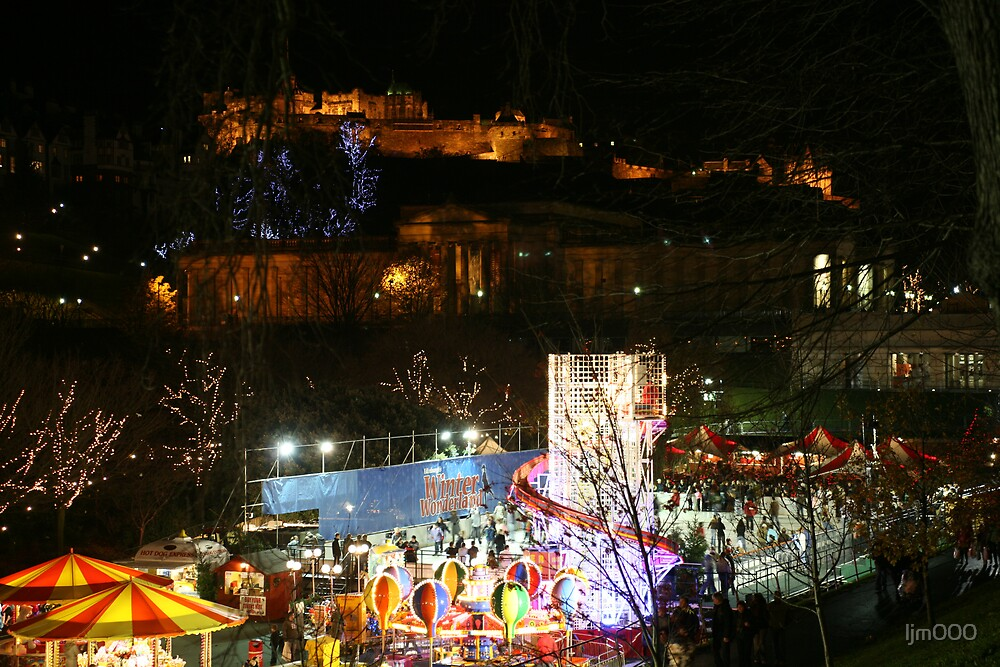 New Year and Christmas in Edinburgh by ljm000