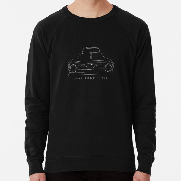 Custom Art Hoodie 1957 58 59 60 F-100 F100 Pickup Truck not affiliated with ford