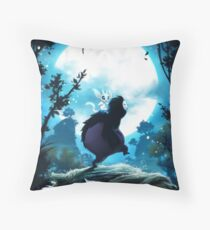 Ori and The Blind Forest (Tribute Poster) Throw Pillow