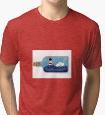 The bottle ship Tri-blend T-Shirt