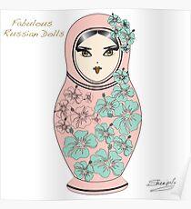 Fabulous Russian Dolls Poster