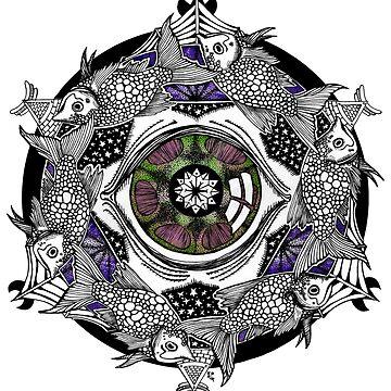 The Stars Conspire Mandala by ZoJones