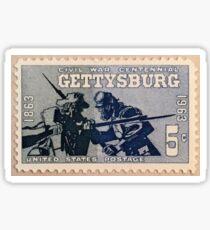 Battle of Gettysburg 1963 Stamp Sticker