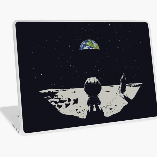 Lonely Space Laptop Skin