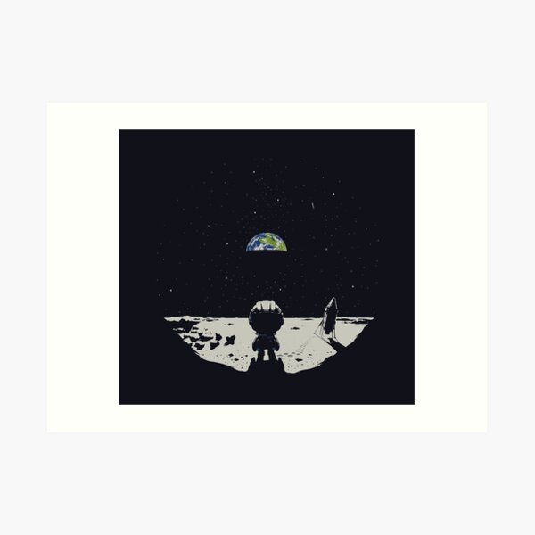 Lonely Space Art Print