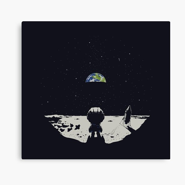 Lonely Space Canvas Print