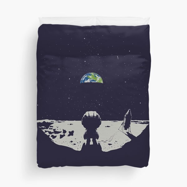 Lonely Space Duvet Cover