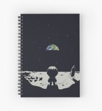 Lonely Space Spiral Notebook