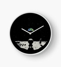 Lonely Space Clock