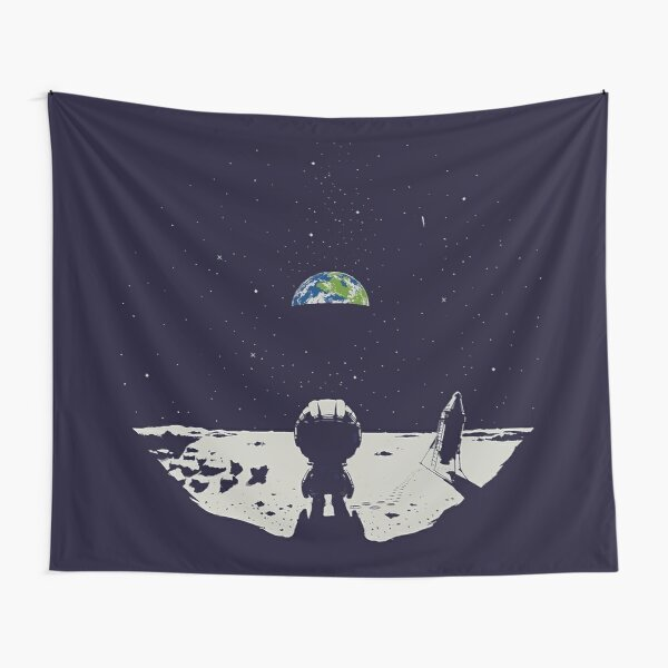 Lonely Space Tapestry