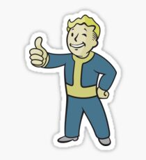 Fallout - Classic Vault Boy Sticker