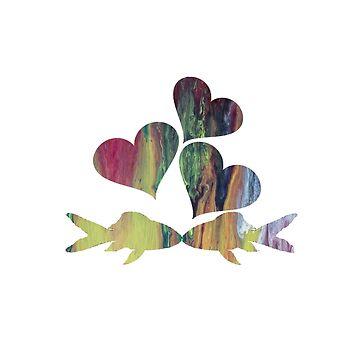 Shubunkin love by BittenByErmines