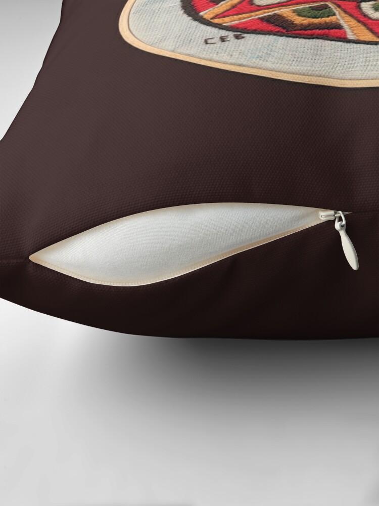 Alternate view of Gold Star Throw Pillow