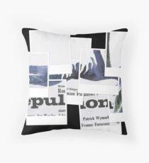 Repulsion Throw Pillow